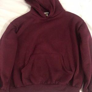 Other - Plain maroon hoodie